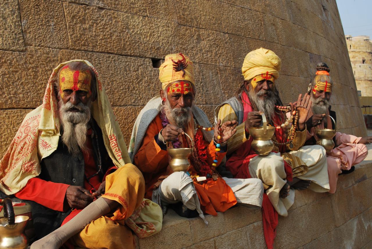 Group of Old Men - India.jpg