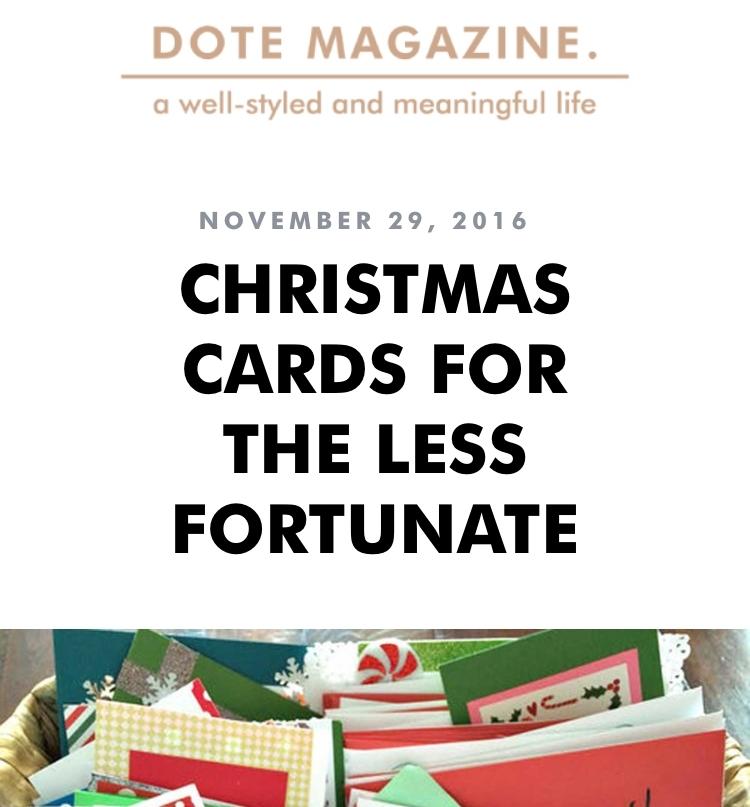 Dote Magazine, November 29, 2016