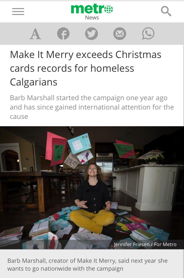 Metro Calgary News, December 23, 2016