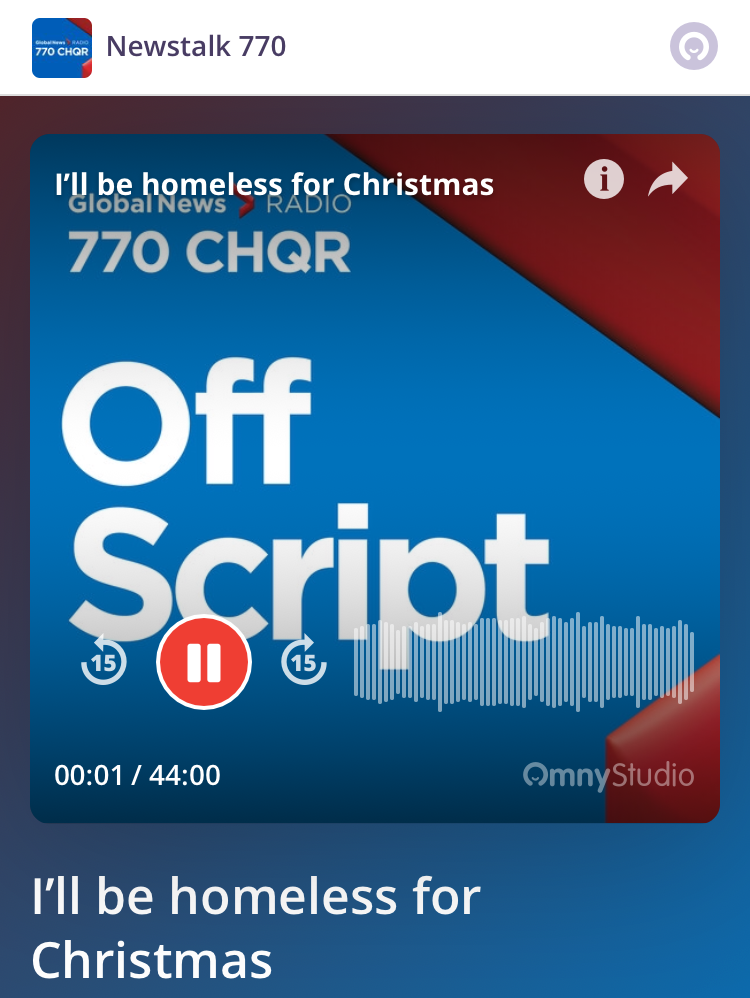 Podcast. December 15, 2017