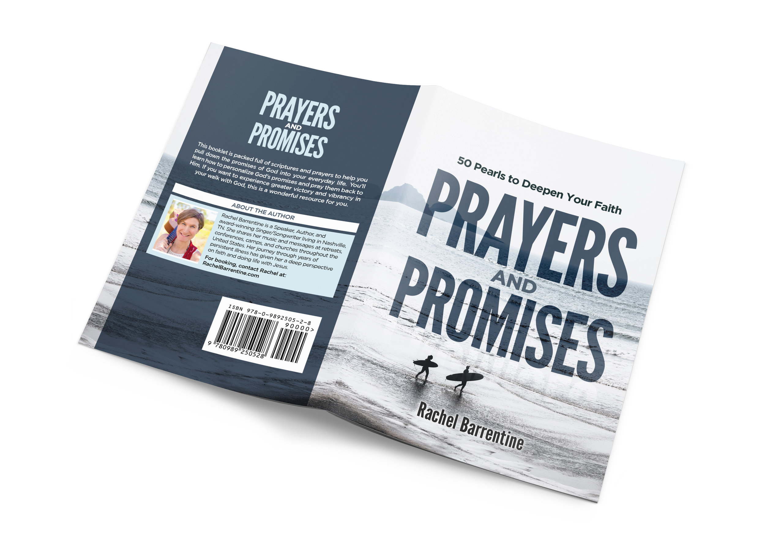 Rachel's  NEW  booklet - Prayers and Promises: 50 Pearls to Deepen Your Faith