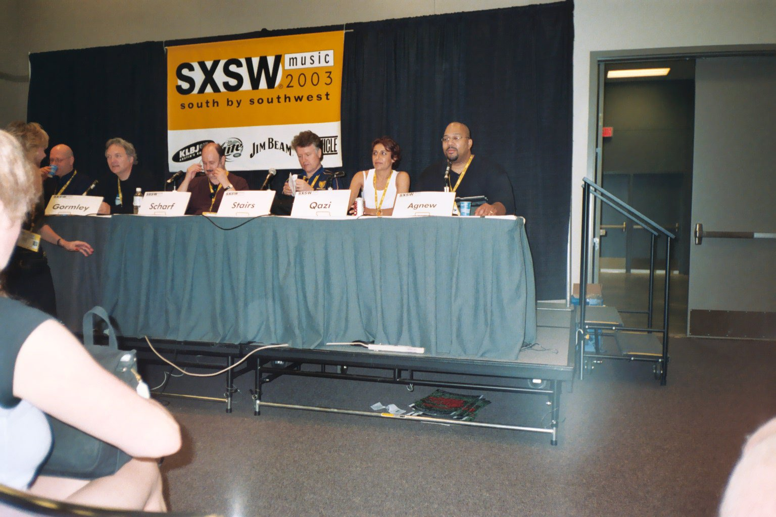 Mike on SXSW Music Panel