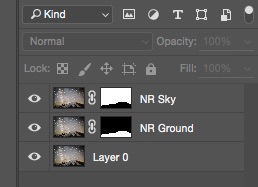 Noise reduction layers