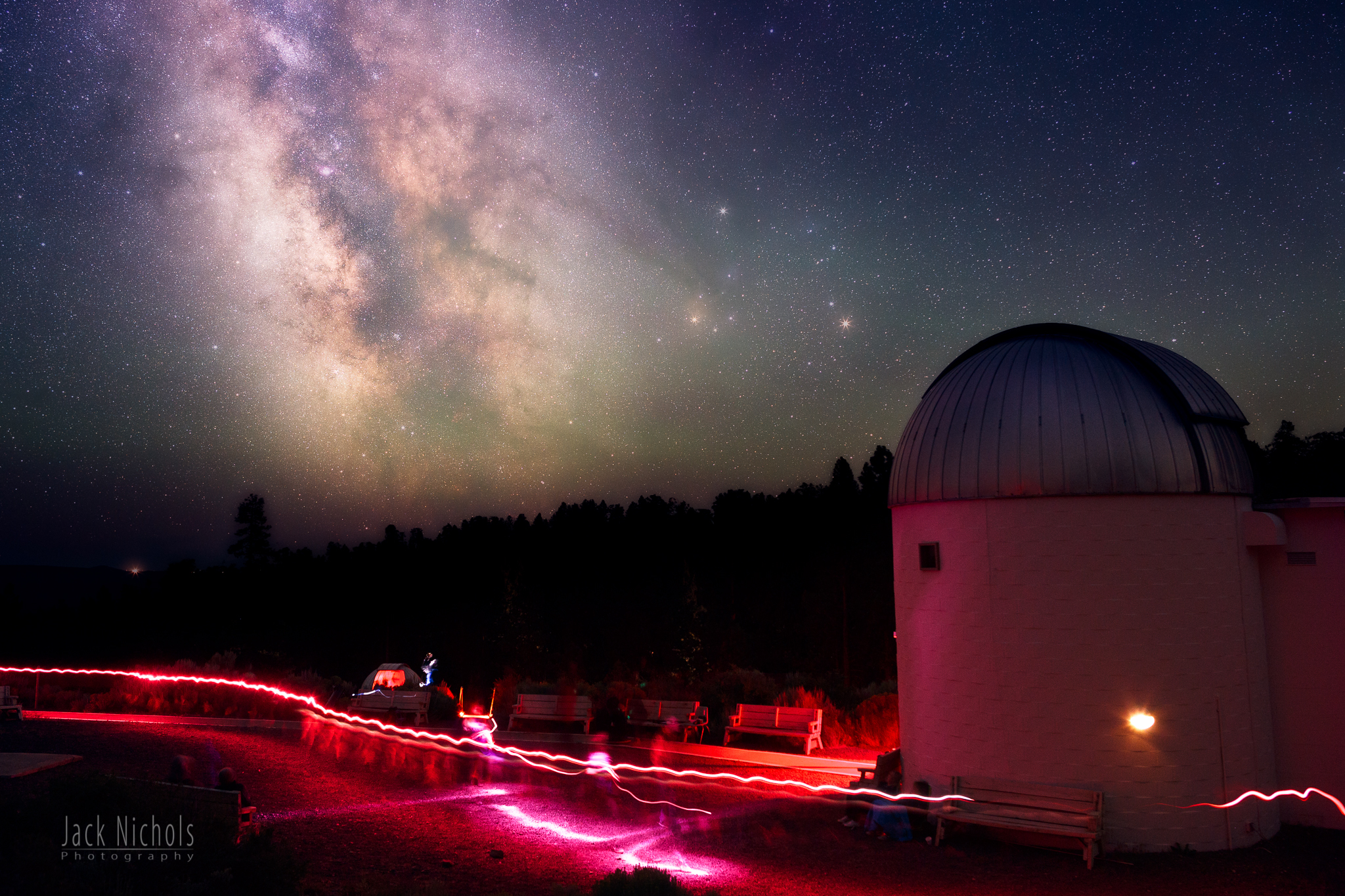 Milky Way example (Pine Mountain Observatory, Bend, Oregon)