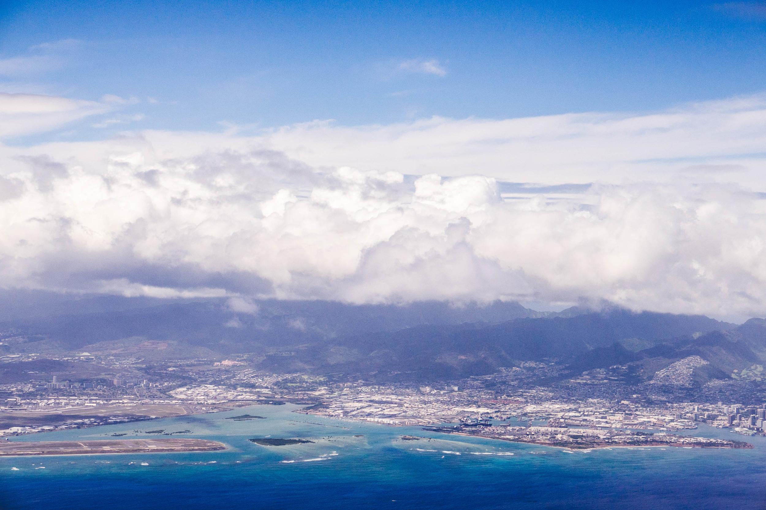 View of O'ahu, Hawai'i