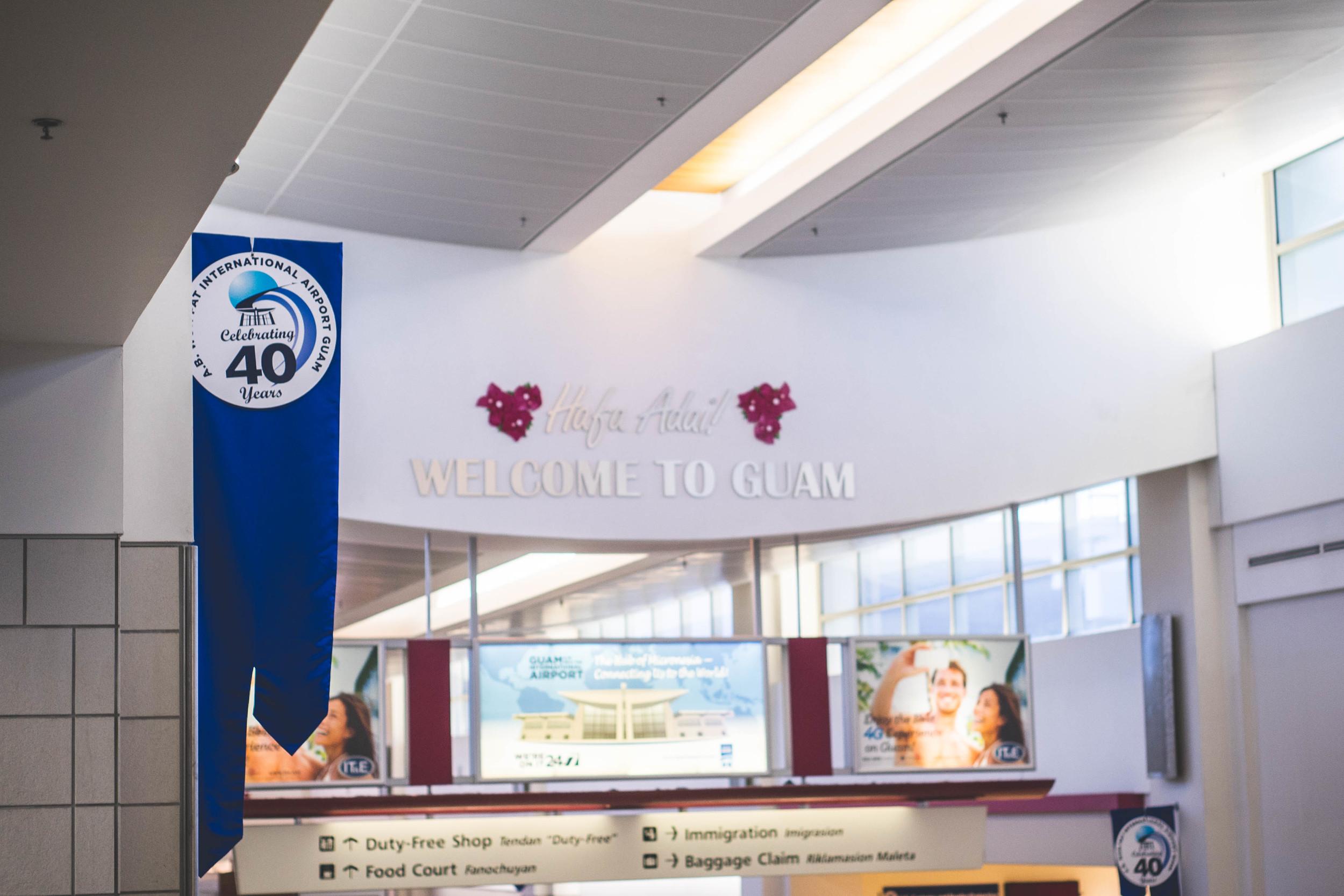 Antonio B.Won Pat International Airport