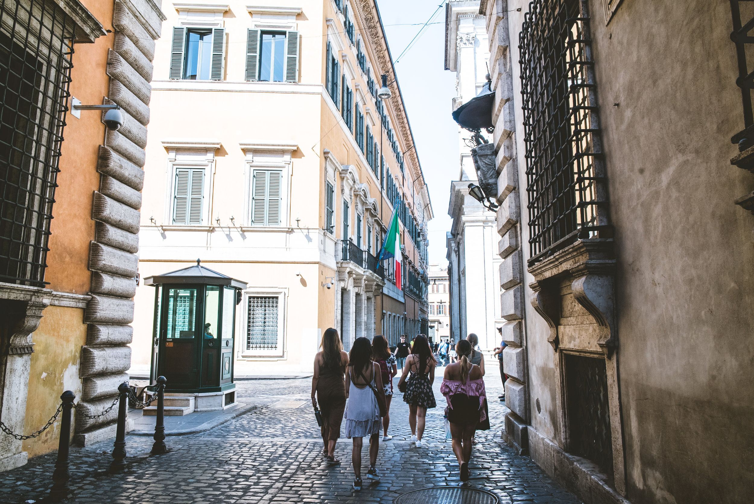 visit rome in august