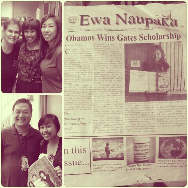 2008 Gates Millennium Scholar: Evelyn Obamos