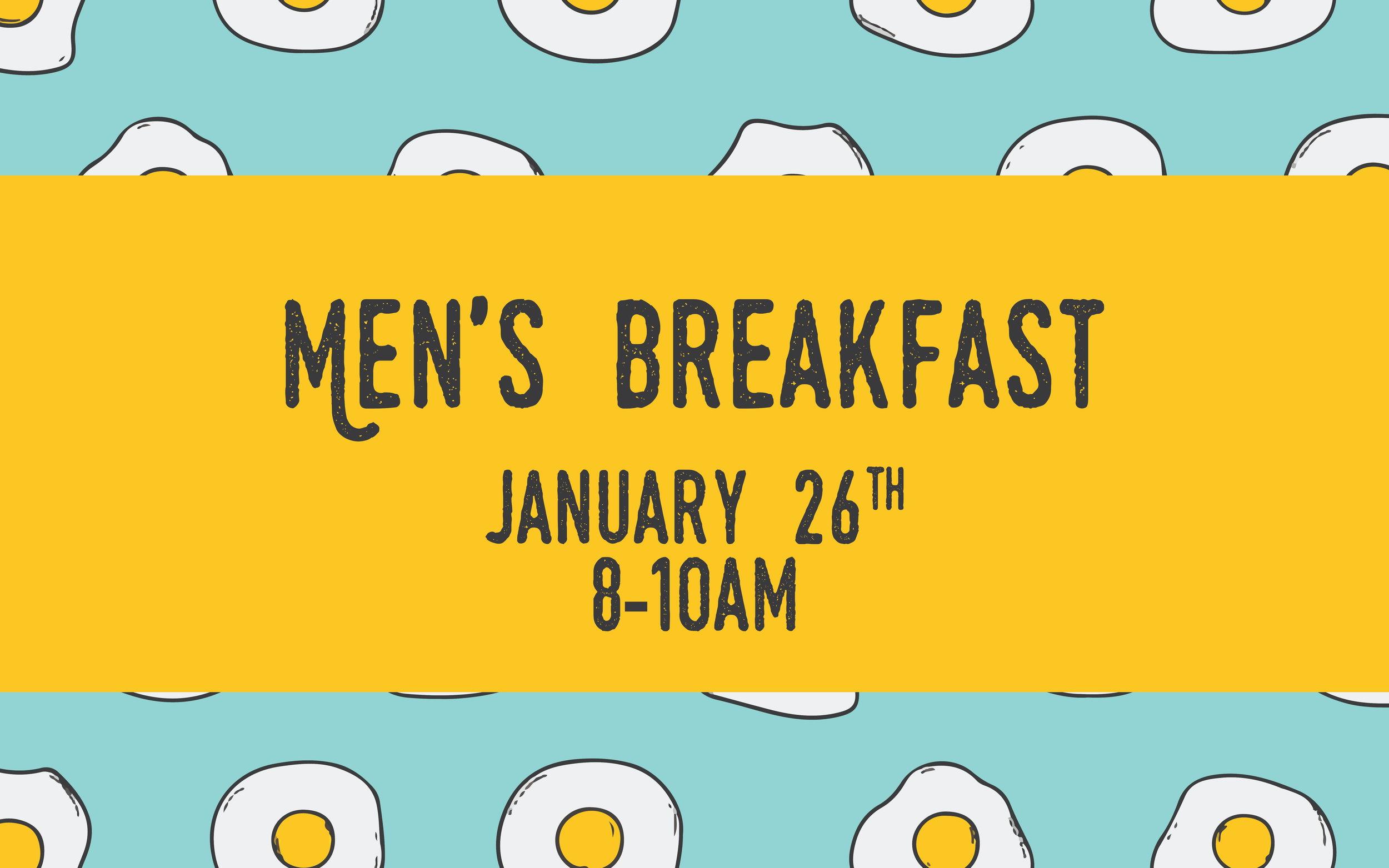 Men's Breakfast 2019