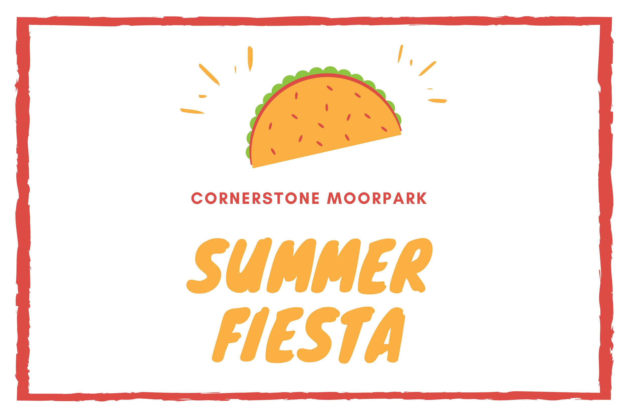 SUMMER fiesta cornerstone