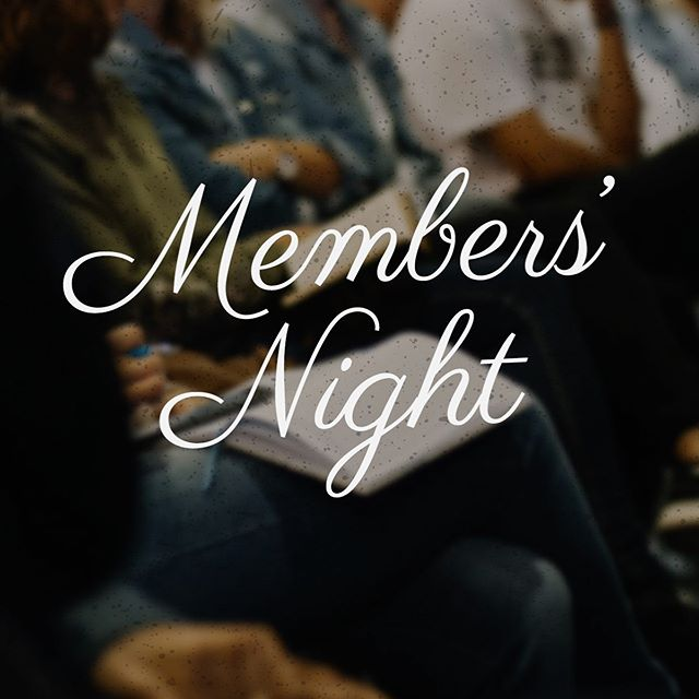 Tonight is our Members' Night from 7:00-8:30 pm here in the Cornerstone Sanctuary.⁣ ⁣ You are invited to an evening of fellowship with other Cornerstone Members and an opportunity to hear us share from our hearts about the following:⁣ ⁣ ~ Our vision for 2020⁣ ~ Major ministry events and calendar⁣ ~ Missionary and Gospel Partnership news⁣ ~ An update on budget.⁣ ⁣ This is a can't miss night and we very much look forward to seeing you there!