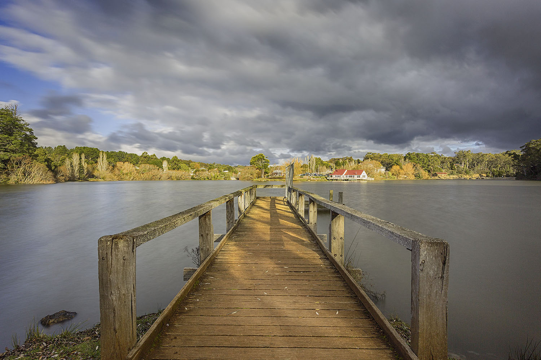 The beautiful Daylesford Lake