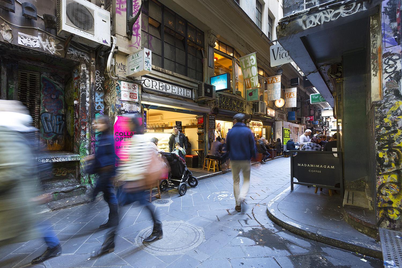 Melbourne's Centre Place
