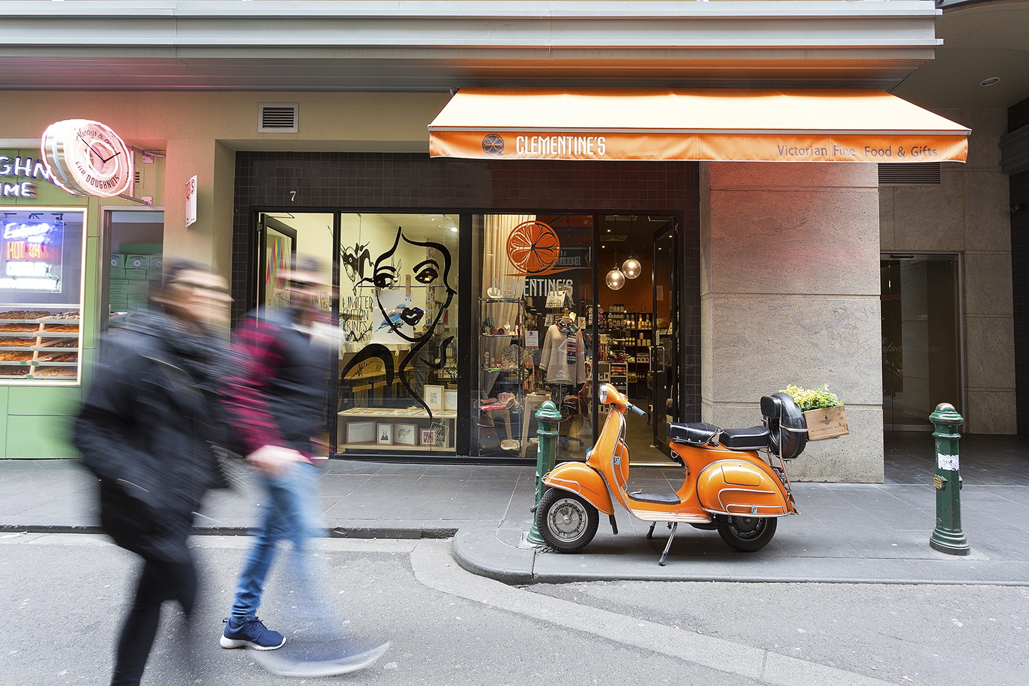 Clementines gift shop on Degraves Street, Melbourne
