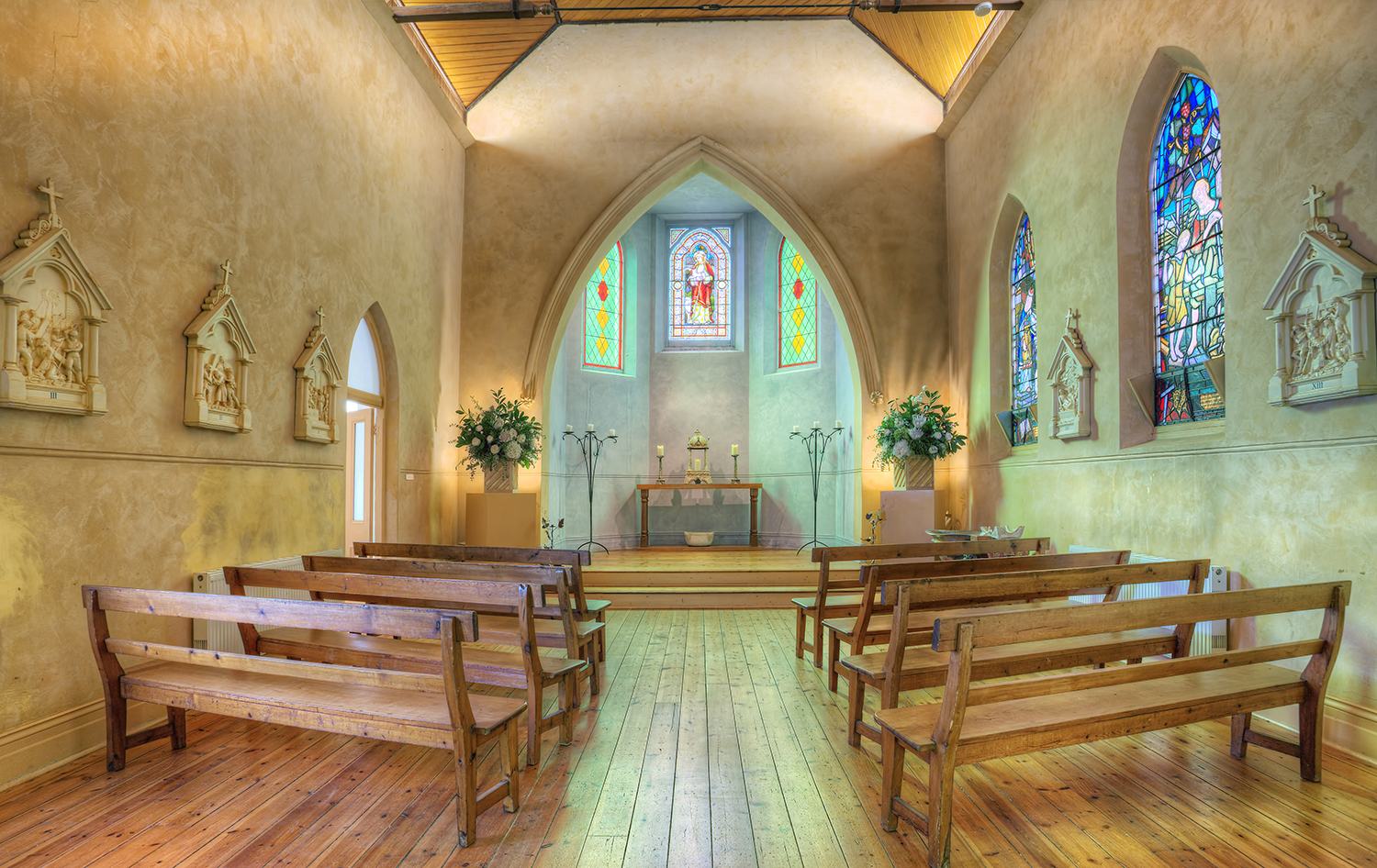 The chapel inside the Convent, Daylesford