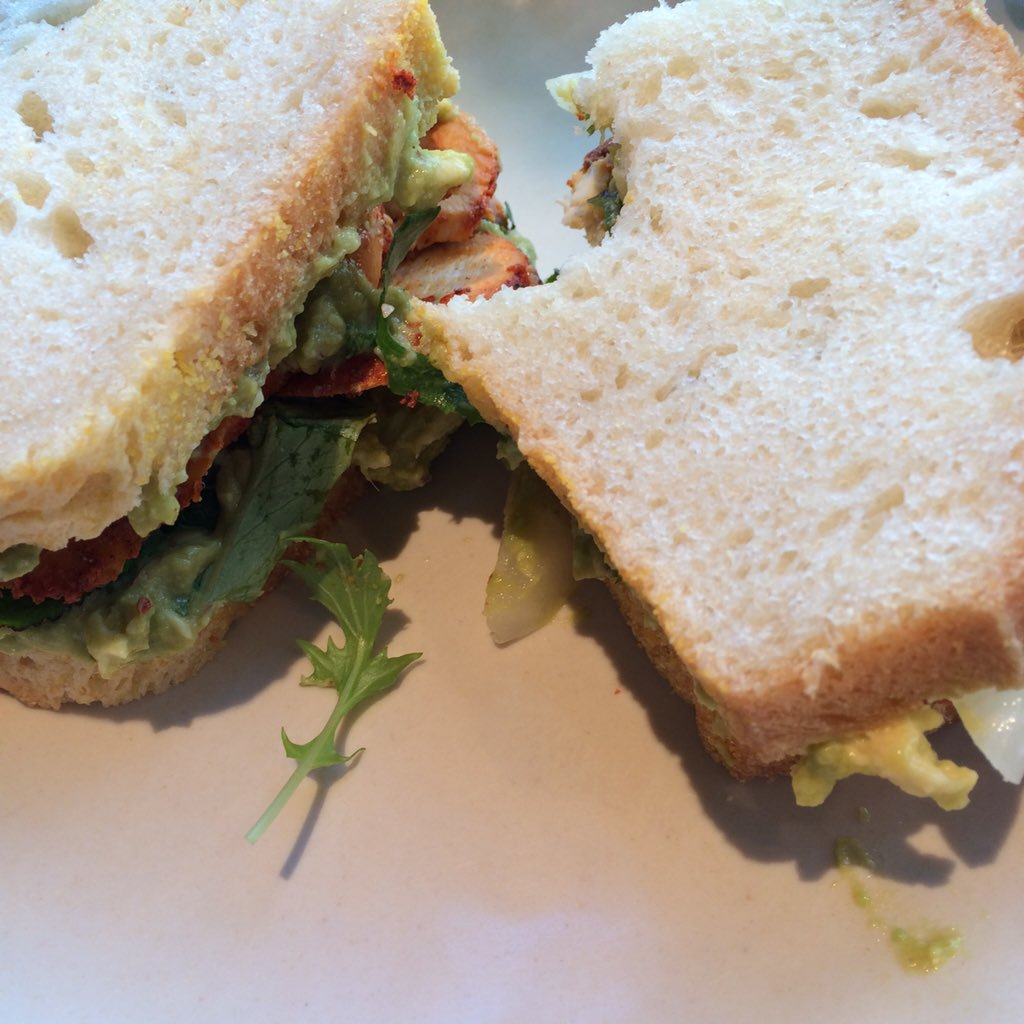 Roast Chicken Sandwich at Flour Bakery.