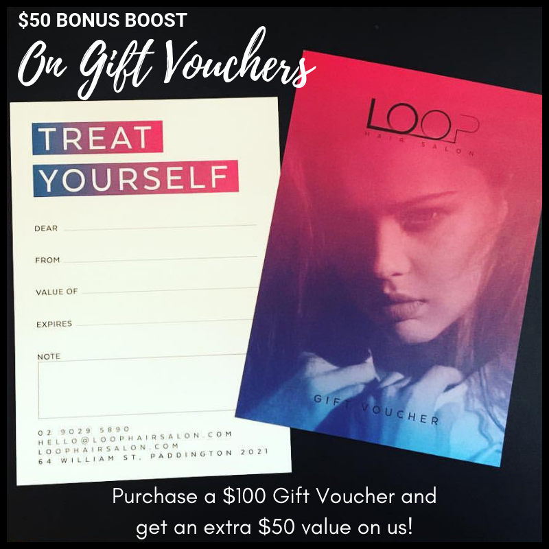 Gift Voucher Boost! - Purchase a Gift Voucher to the value of $100 and we will pump it up with an extra $50 on us!*Must be purchased in November or December 2018.