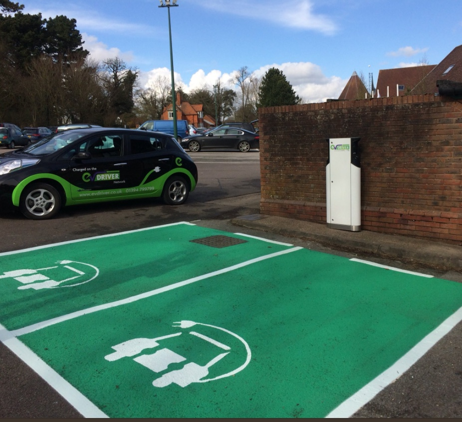 Green parking spaces for green drivers!