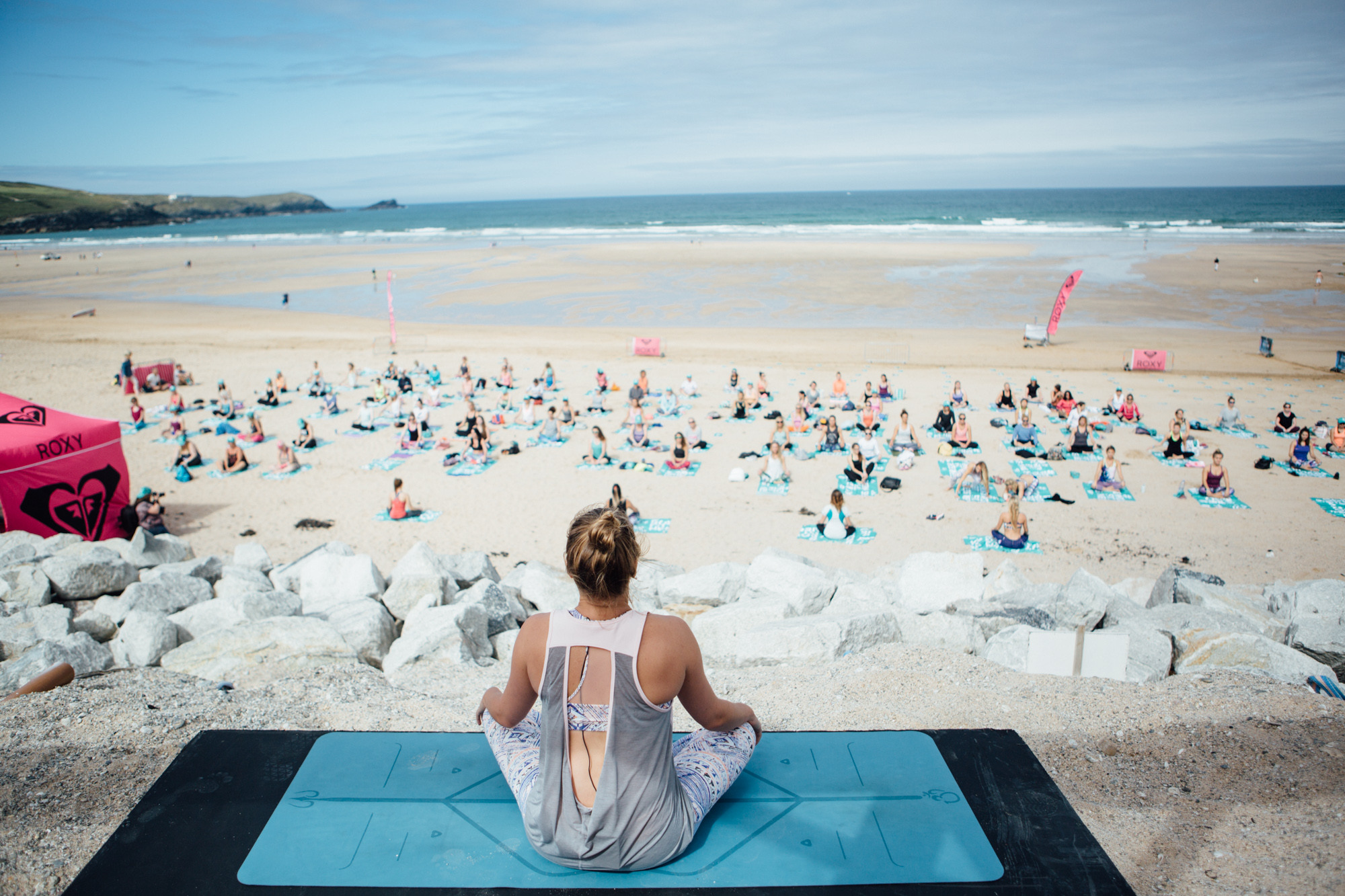 Very Public Yoga situation