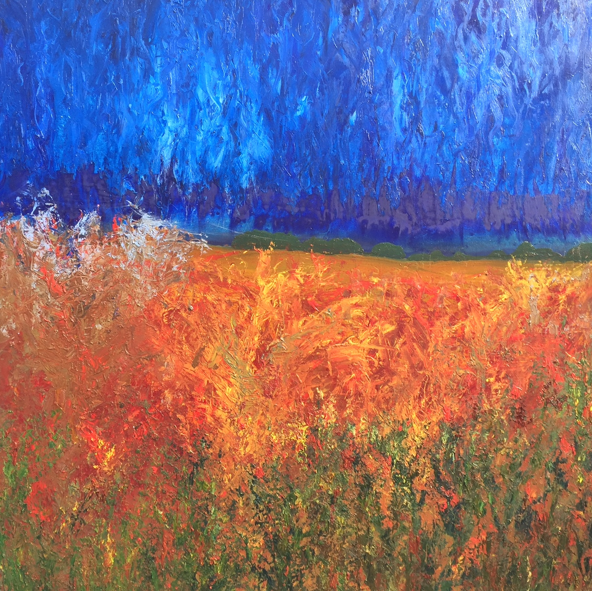 Field Of Dreams - Oils48'' x 48''£775** SOLD **