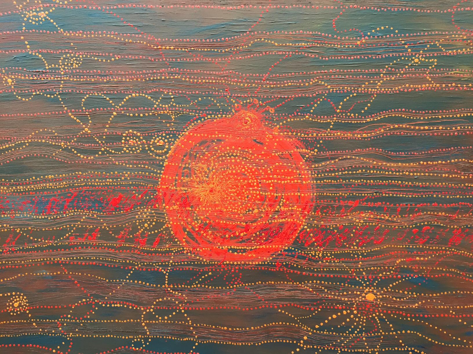 Creation - Oil & acrylic38 x 46 inches£750