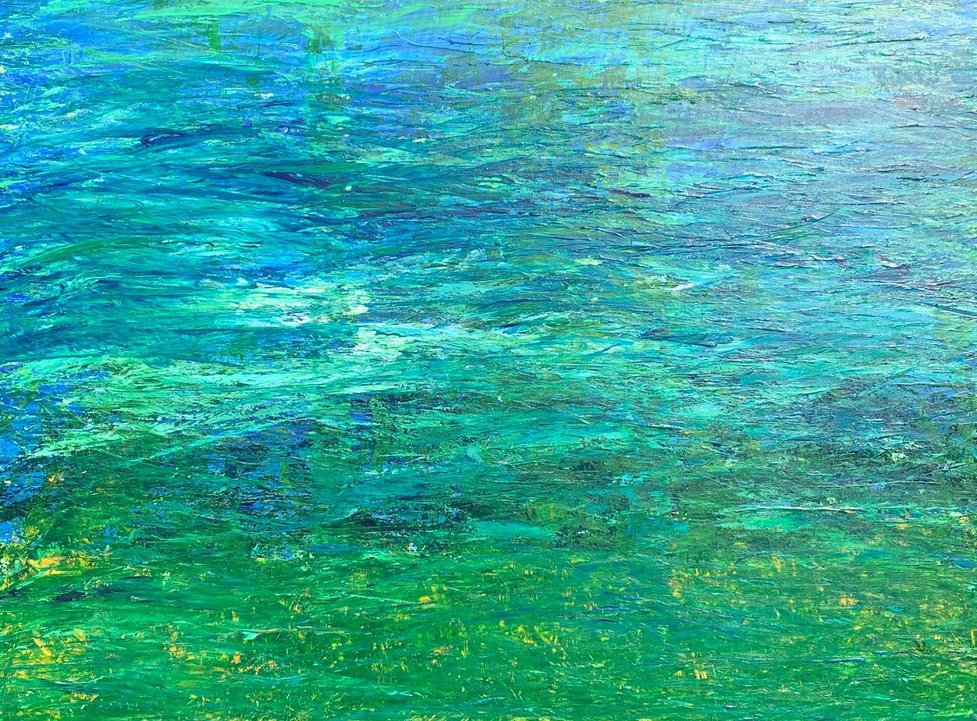 Under Water - 2019Acrylic & mixed media36 x 48 inches£735