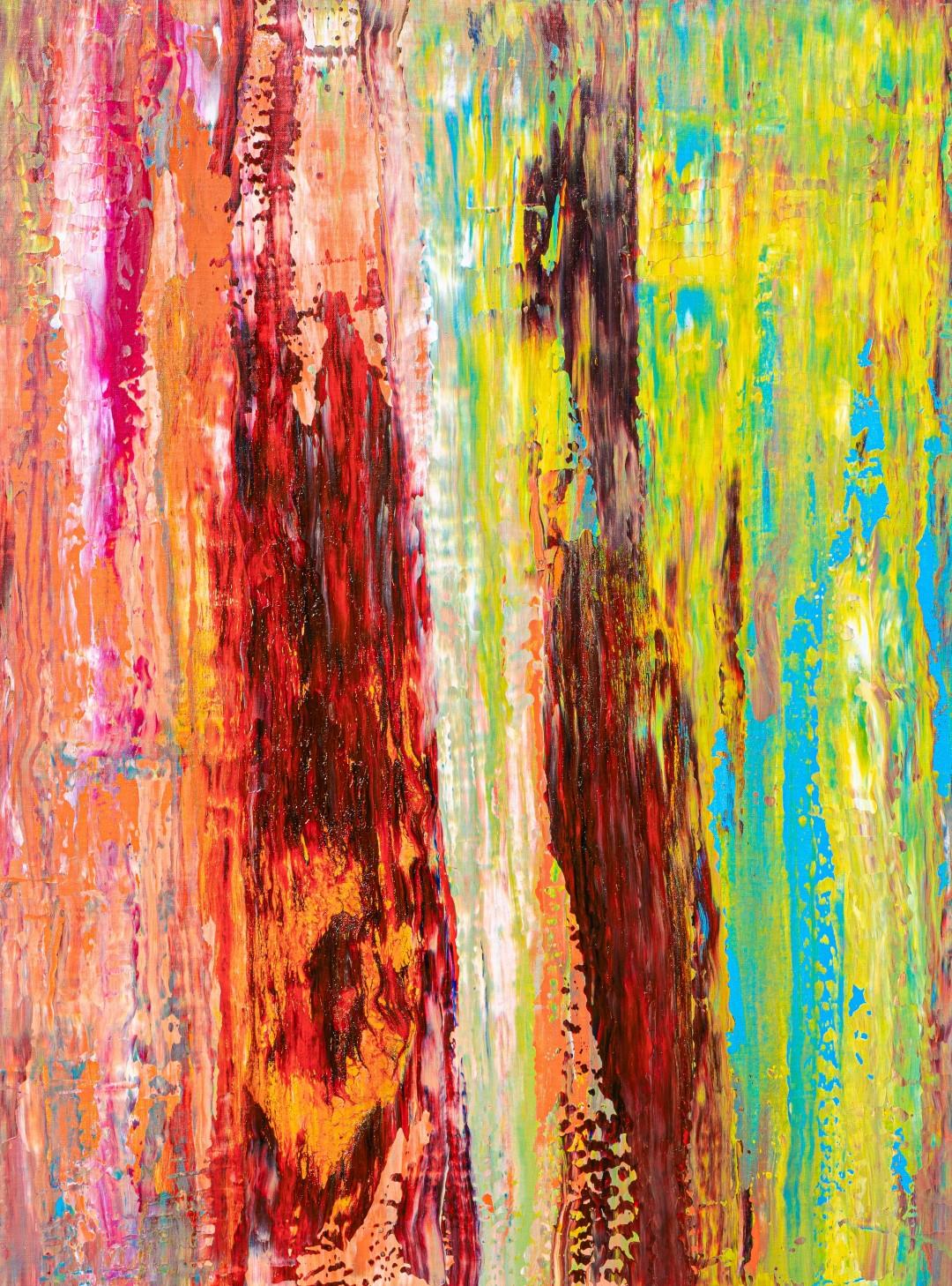 SHAMANIC VISION - 2019Acrylic & mixed media48 x 36 inches£725