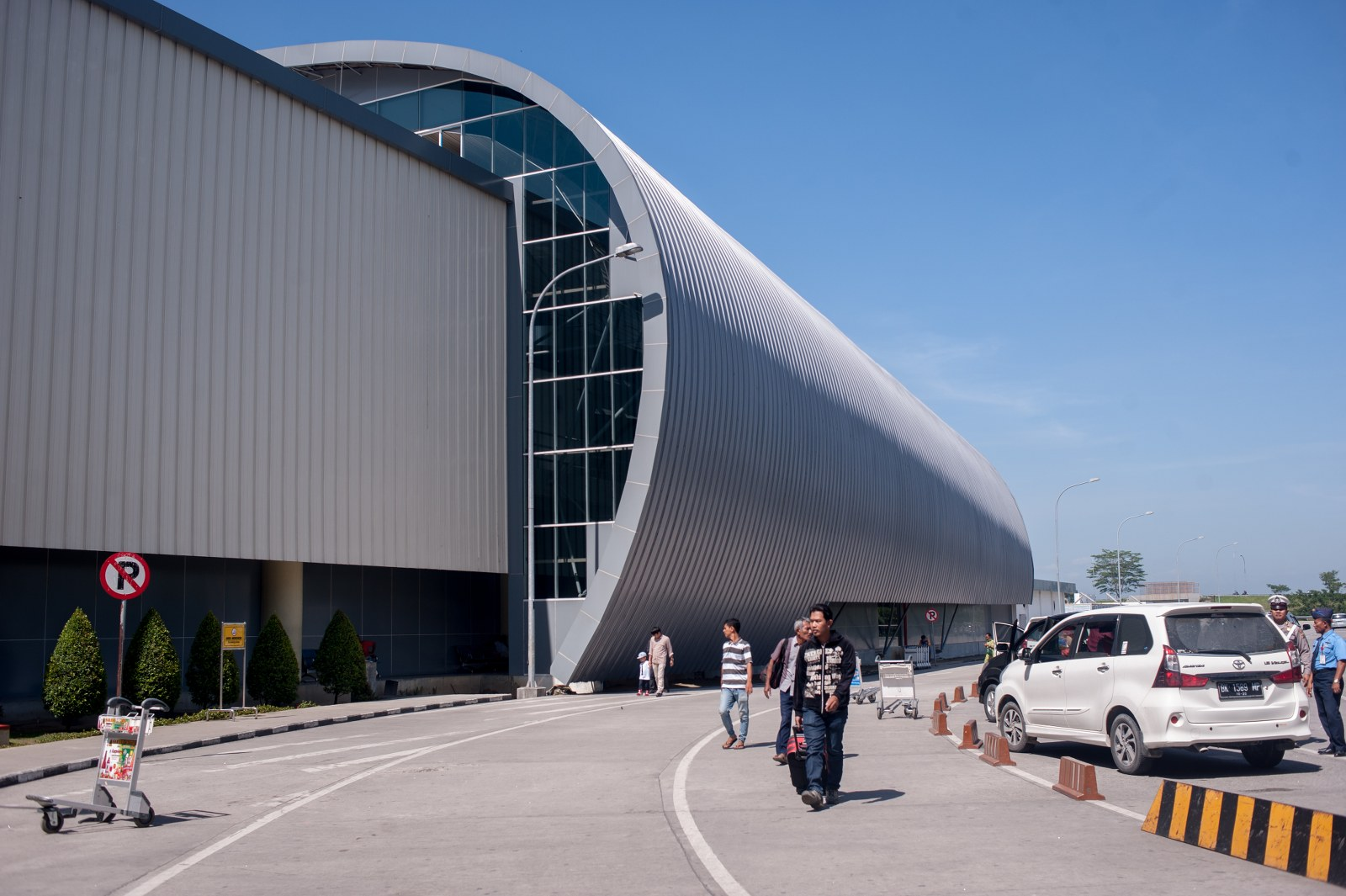 Medan's new Kualanamu International Airport.