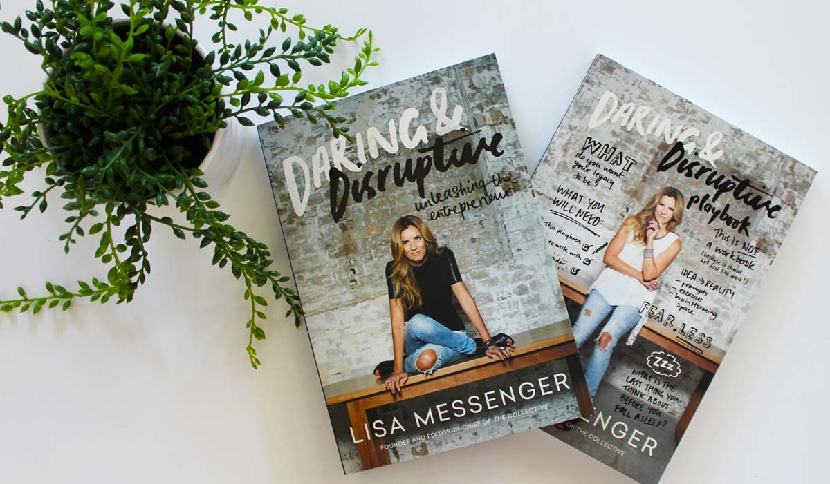 Lisa Messenger, founder of  The Collective Hub , is a constant source of inspiration for me. She's a self proclaimed 'entrepreneur for entrepreneurs' and offers bounds of advice and inspiriation in her titles. Arm yourself with a selection of motivational reading for the year ahead. Image courtesy of  Rise Women