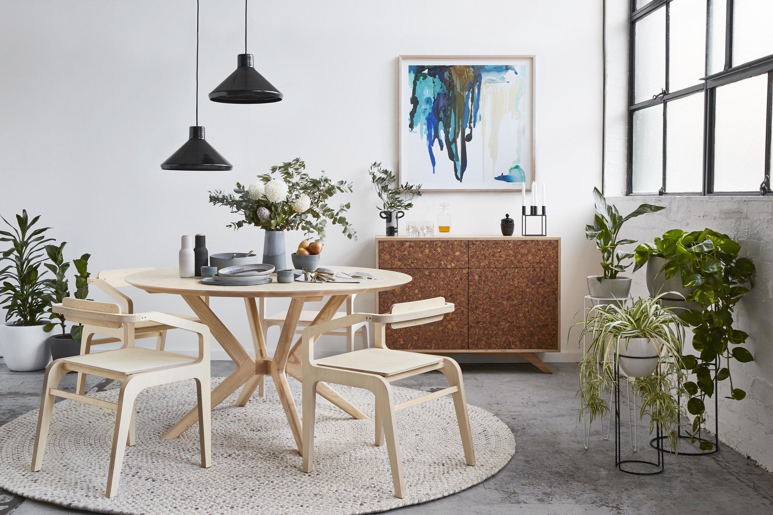 Maitland Street Interiors, Sarah Elshaug, Interior Stylist Melbourne, Felix Furniture Dining Room