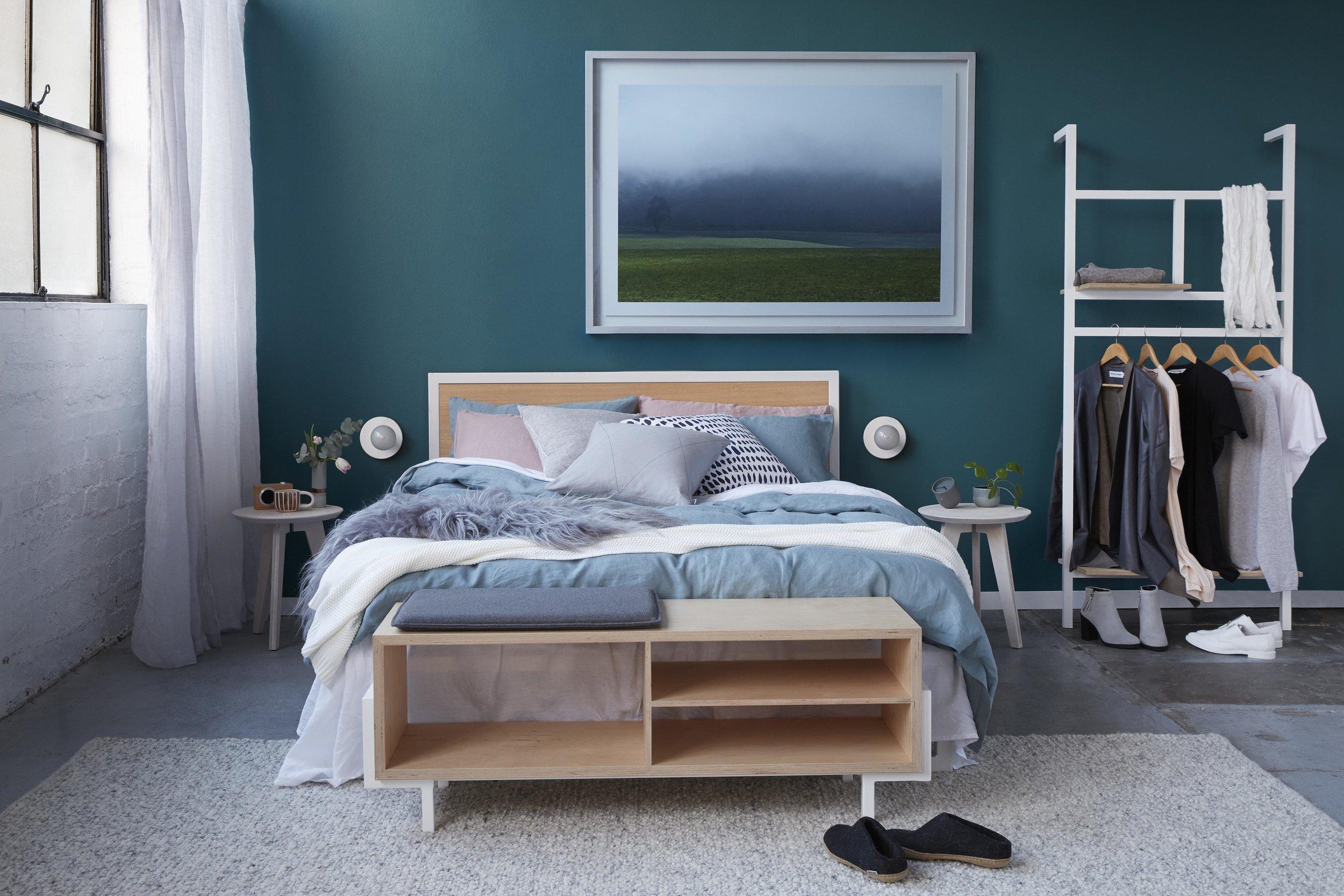Maitland Street Interiors, Sarah Elshaug, Interior Stylist Melbourne, Felix Furniture Bedroom