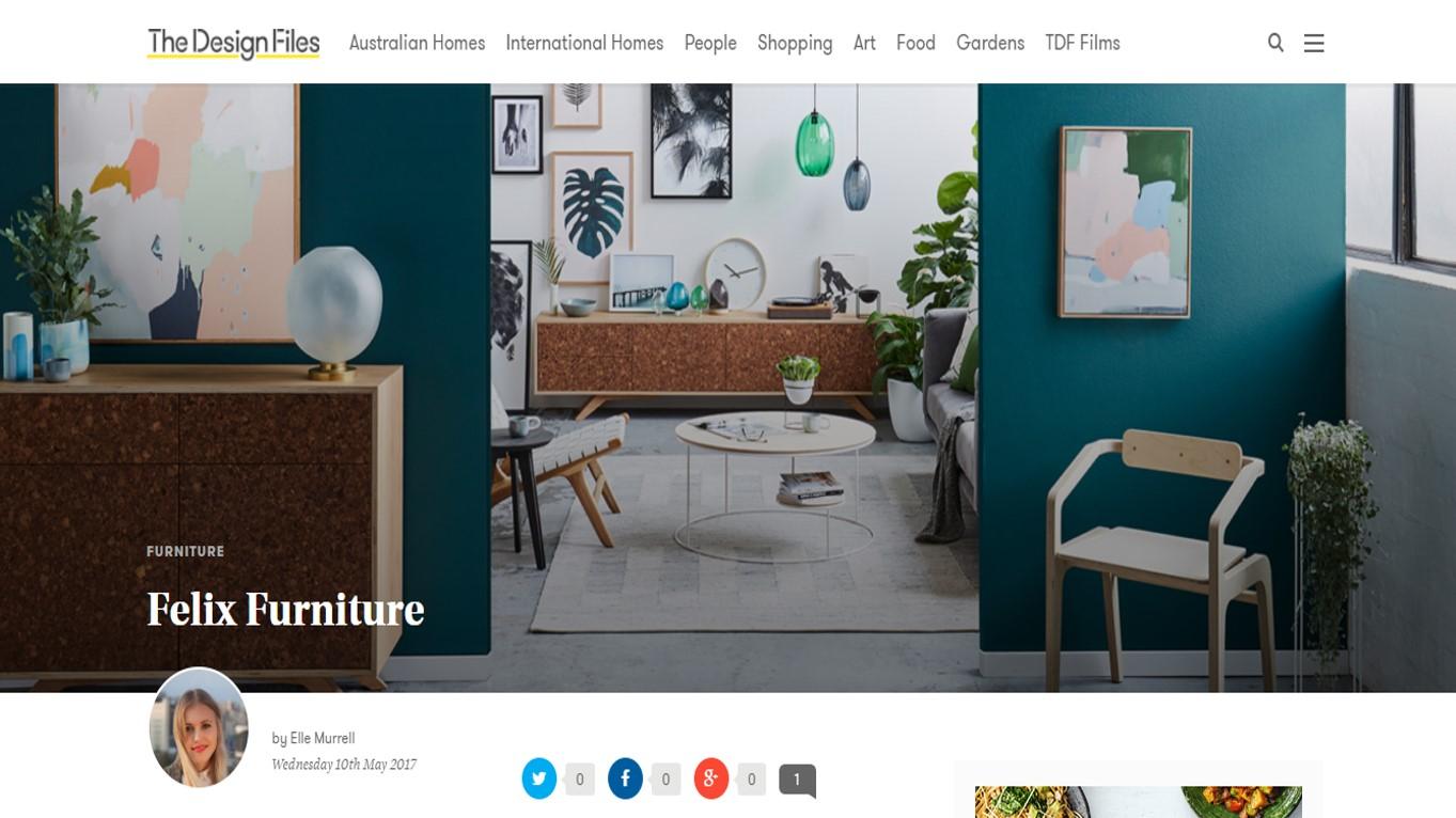 Maitland Street Interiors, Sarah Elshaug, Felix Furniture, XO Studios, The Design Files, Interior Stylist Melbourne