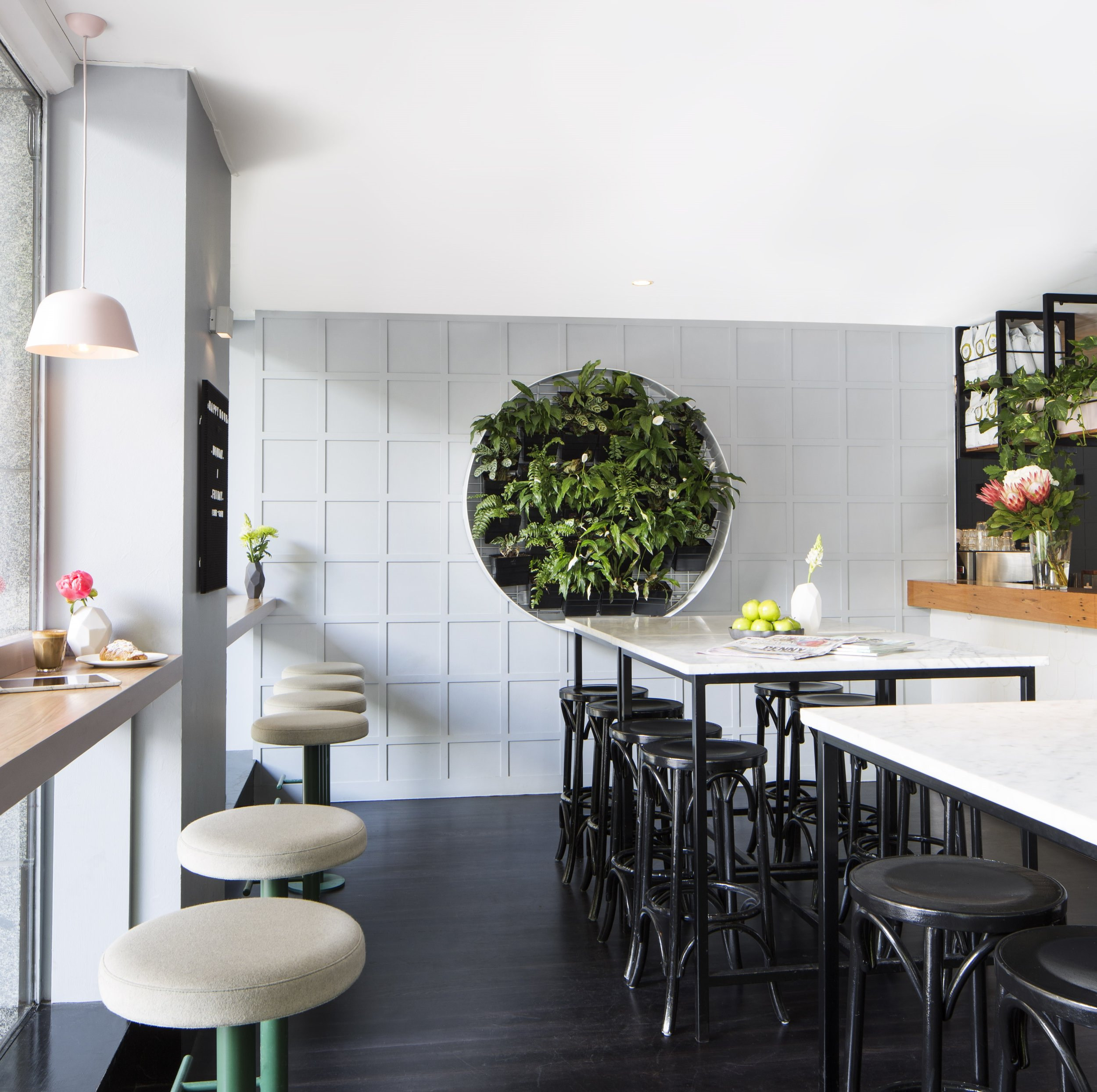 Lello Pasta Bar , on Melbourne's iconic Flinders Lane, has undergone a recent refresh of its cafe interior (design by  Maitland Street Interiors ), setting it up to thrive in the competitive cafe industry. Interior Stylist:  Sarah Elshaug ,  Maitland Street Interiors . Photographer :  Stephanie Rooney