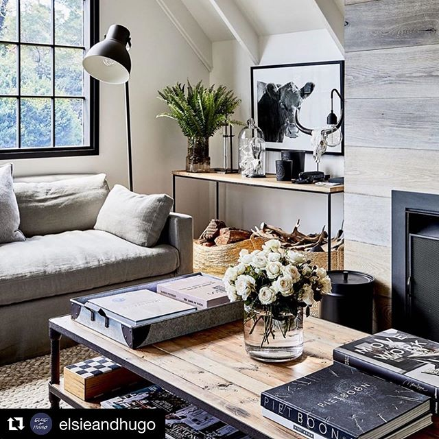 So chuffed to see 'Elsie' from my @elsieandhugo print range styled so effortlessly by the fabulous @chykak ✖️ you too can take a tour through this stunning Mornington Peninsula weekender via @thedesignfiles today 🙌🏻 ✖️ I'm a bit head over heels with this place... the styling, the layers, the cosiness, the exterior form, that dark grey facade against the lush green surrounds, the landscaping, that outdoor fireplace... it's all pretty magnificent really;) #Repost @elsieandhugo with @get_repost ・・・ Gosh Elsie looks so at home here 🙌🏻 ✖️ beautifully styled by the amazing @chykak at her Mornington Peninsula hide-away ✖️ this stunning property features today on @thedesignfiles (link in our profile) ✖️ captured by @ameliastanwix ✖️ I'm totally in love with Chyka and Bruce's interior style... layered, textural, effortless Scandi meets country ✖️ it's the perfect spot for a sneaky glass of @phaedrusestate 2010 Pinot Noir by the fire with great company of course 😘🍷 . . . #elsieandhugo #morningtonpeninsula #thedesignfiles #interiorstyle #scandimeetscountry #thecowsatvista  #mymorningtonpeninsula #photographicprints  #limitededition #photographicprint #farmlife  #mycountrystyle #countrylifestyle  #sarahelshaug #visitmorningtonpeninsula #artwork #artwatchers #artprint #originalartwork #animalsofinstagram #animalart