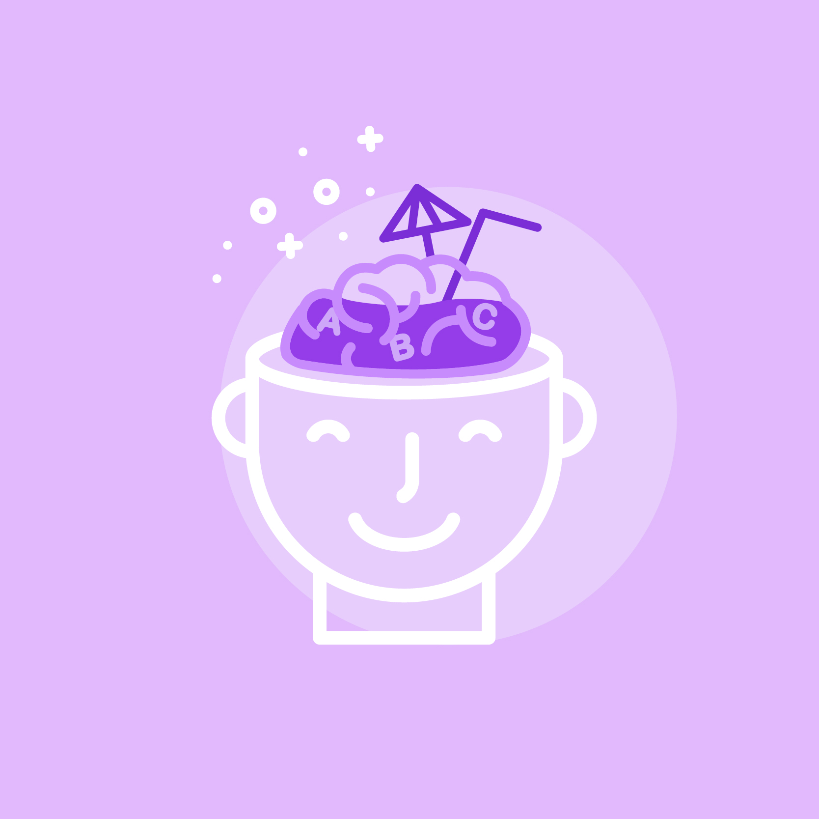1:1 Brain Juice - Your Chief of Communications. On-demand. Just what the content doctor ordered.