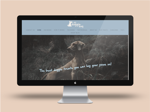 My Doggie bag - E-Commerce website for subscription product