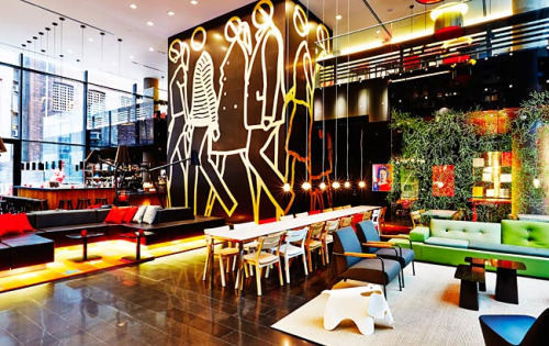 citizenM Lobby, New York