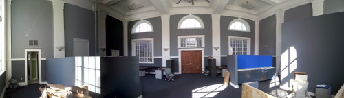 Our office, AFTER. More open and inviting.