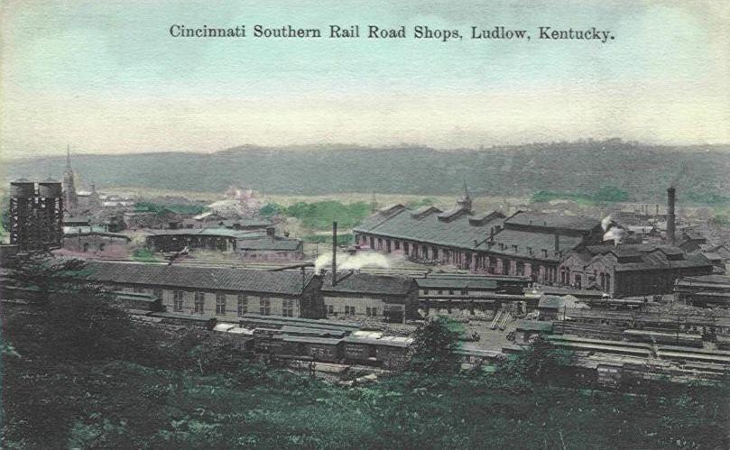 Ludlow Rail yard