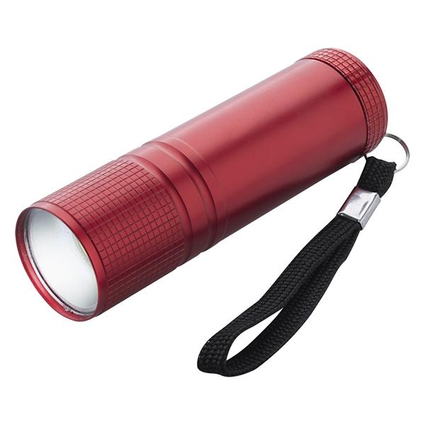 COB Pocket Flashlight With Strap