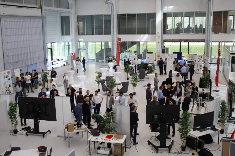 FlexCAR Expo Day 2019 in the Arena2036 Building