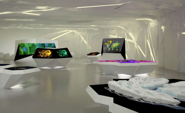 KAPSARC Exhibition design