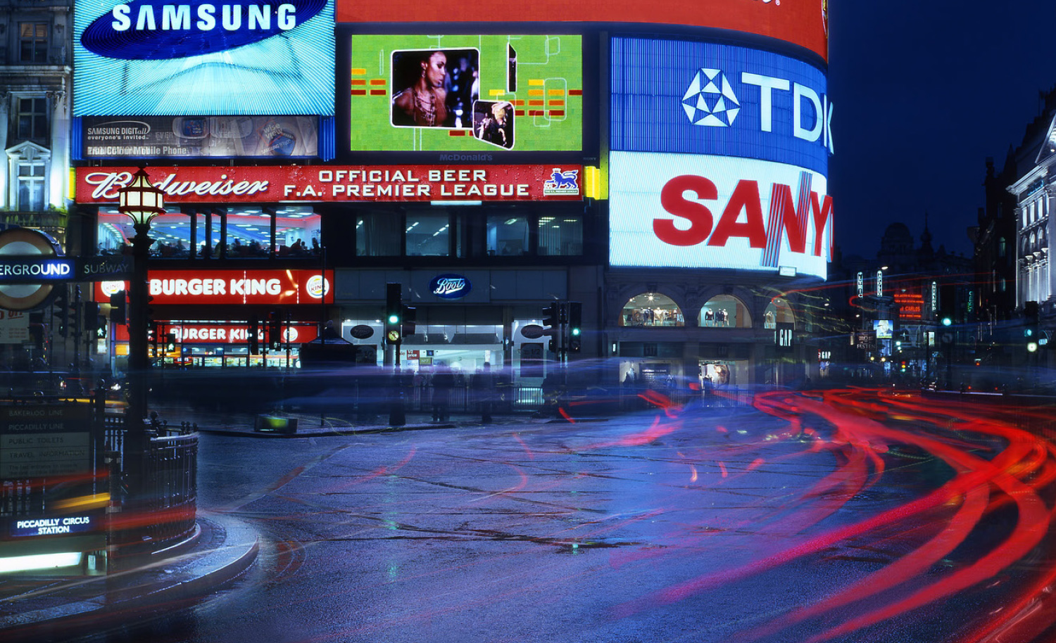 Piccadilly Lights Advertising guidelines