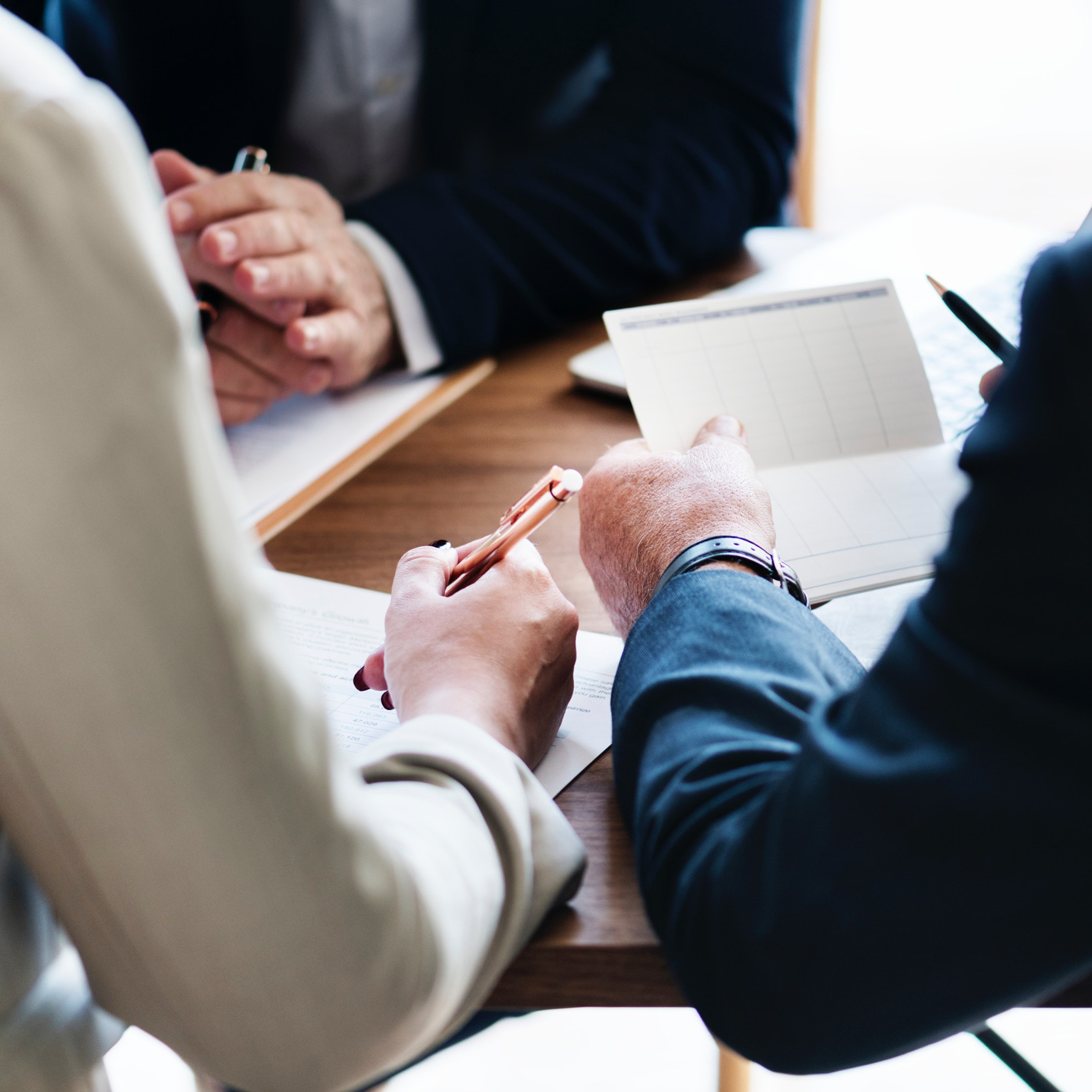 The interview process - Our interview process is more than just a sit down discussion. We bring the candidates in, do a formal interview, and send them with homework. All potential candidates will take the LifeSquire Personality Test and the StrengthFinders test.