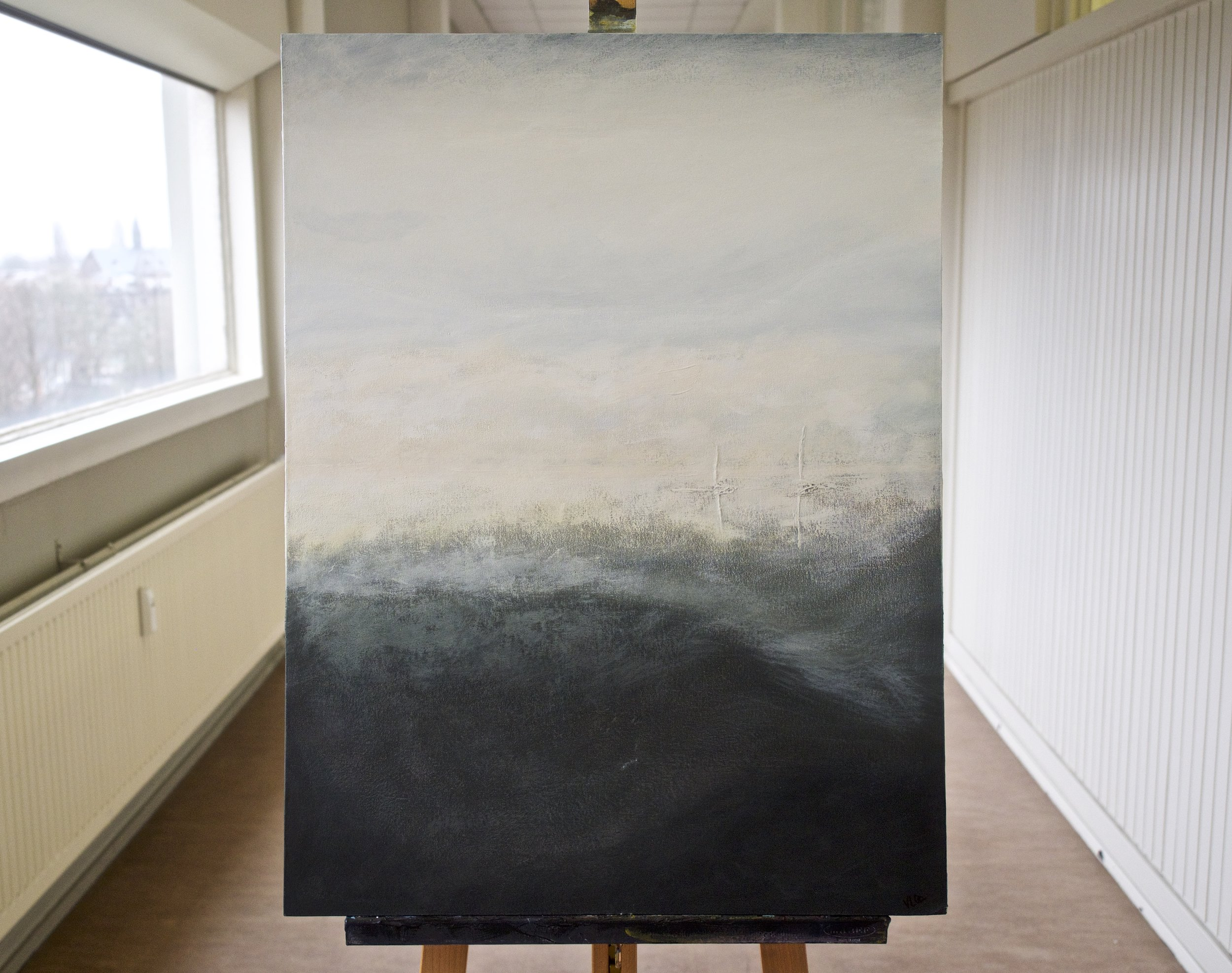 Untitled (6)  Acrylic on canvas, 60 x 80 cm €700