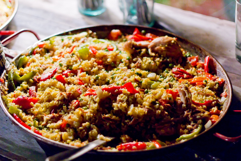 Vegetarian Paella