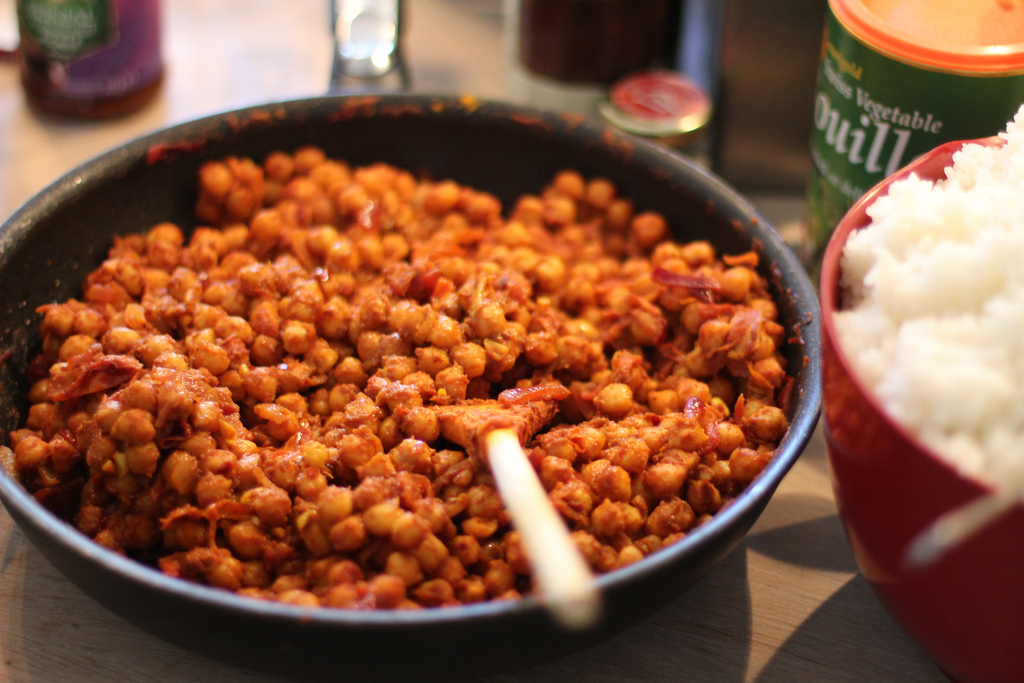Budget-friendly chana masala