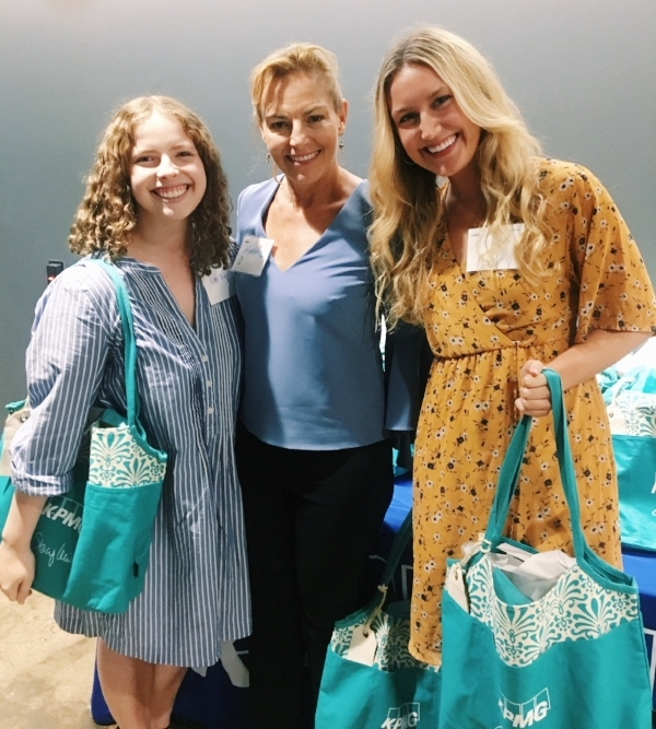 Interns Emily and Hedy with Martha Delehanty!