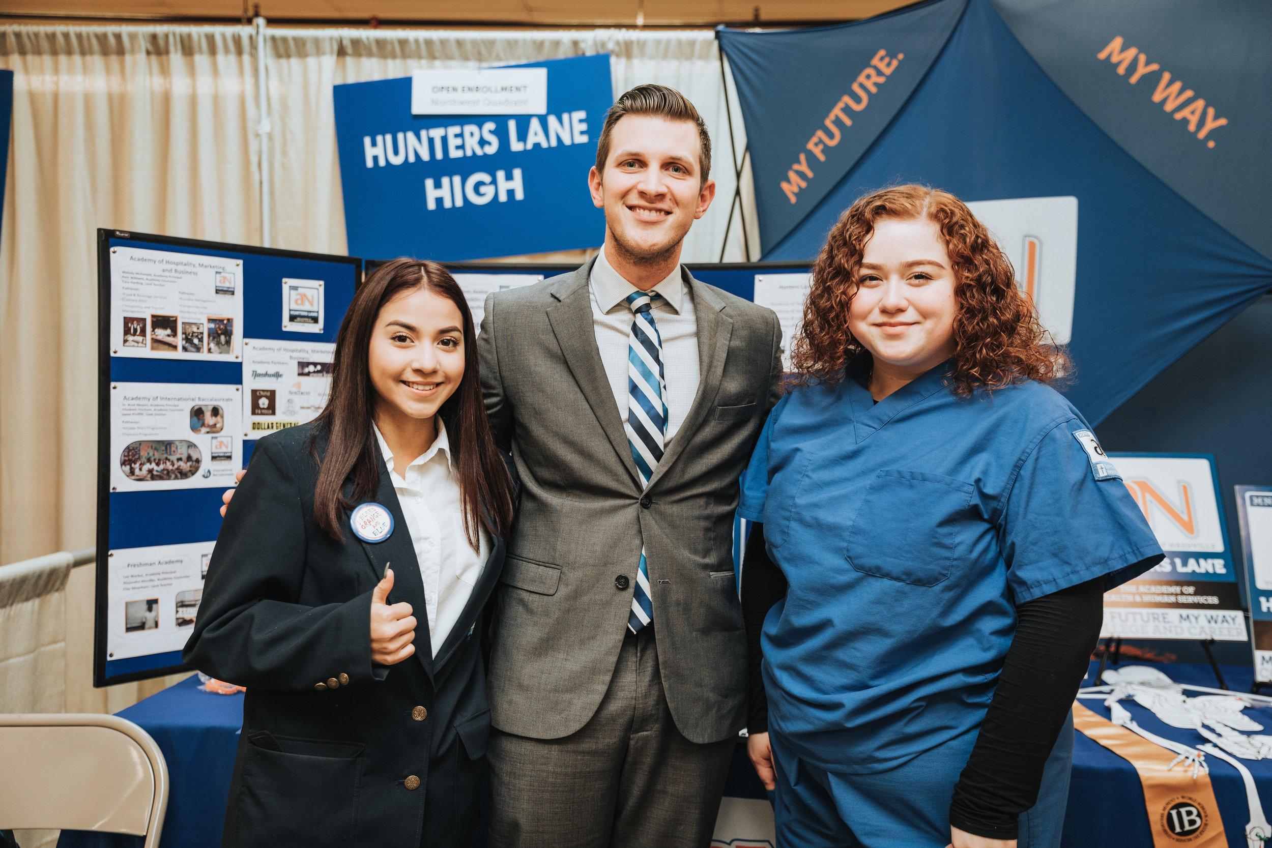 Hunters Lane High School Staff
