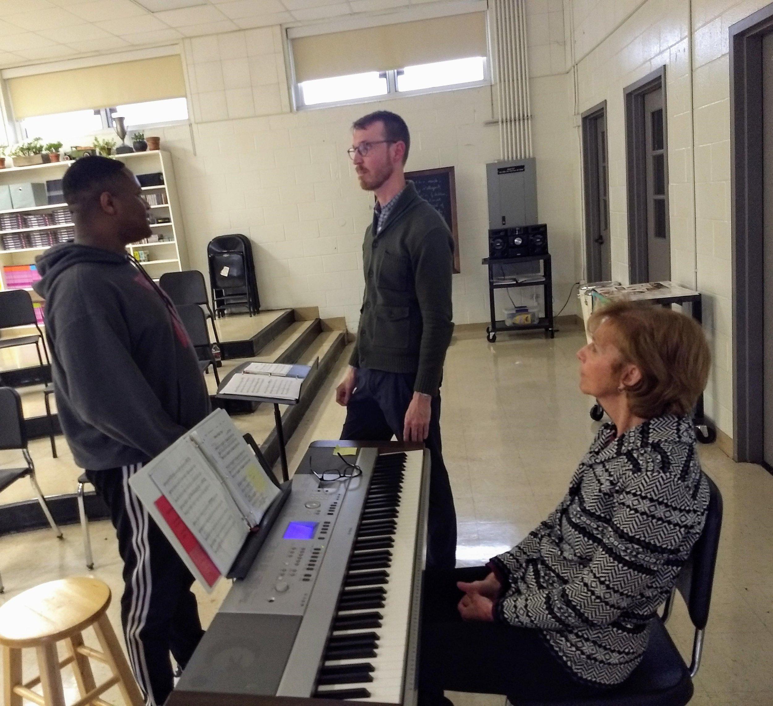 Chuck Brown and Linda Friend with chorus soloist.jpg